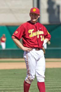 Hot corner · USC senior third baseman Kevin Swick has been a stable threat at the plate this season, batting .313 with 16 RBIs in 35 games. - Joseph Chen   Daily Trojan