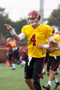 Blue chip · Redshirt freshman Max Browne was recruited by former coach Lane Kiffin as one of the best high school players in the country. - Ralf Cheung | Daily Trojan