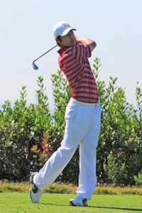 Final swings · Senior Jeffrey Kang will participate in his last Pac-12 Championship this weekend. Kang finished 60th at last year's event. - Courtesy of USC Sports Information