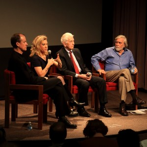 Patriot or traitor? · The panel consisted of three previous whistleblowers who spoke on the diminishment of the First Amendment and the need for proper governmental accountability. - Noel Berry | Daily Trojan