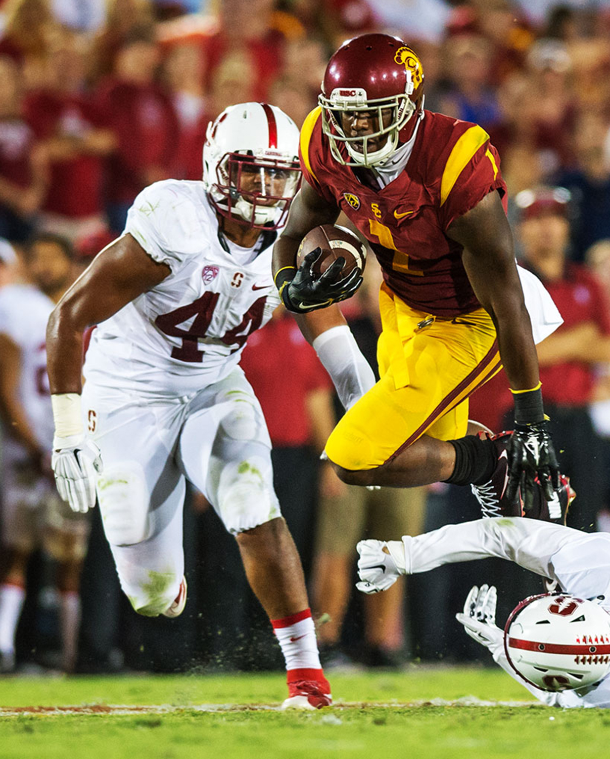 Run, Rogers, run · Junior wide receiver Darreus Rogers has been limited in practice due to a hamstring injury he suffered during USC's win at ASU. - Tal Volk| Daily Trojan