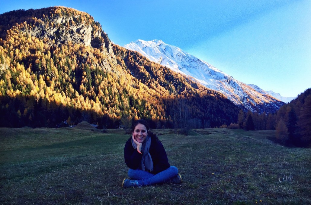 Even a high quality camera didn't do the beauty of the Alps justice, Blogger Maya Anderman said. Photo contributed by Maya Anderman | Daily Trojan