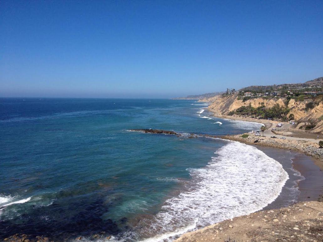 The beautiful cliffs off Santa Monica beach. Charlie Wulff | Daily Trojan