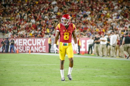 Trever Sochocki | Daily Trojan Slowing the stampede · Sophomore defensive back Iman Marshall will be among those tasked with stopping the Buffaloes' potent offense, which is averaging 43.2 points per game and spreads the ball to many receivers.