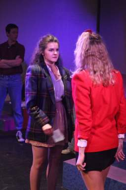 Photo courtesy of Musical Theatre Repertory at USC Mean girls · Sophomore Julianna Keller (above) plays the role of Veronica Sawyer in Heathers: The Musical. The show, the theatrical adaptation of the 1998 cult film Heathers, became a hit production off-Broadway in 2014.