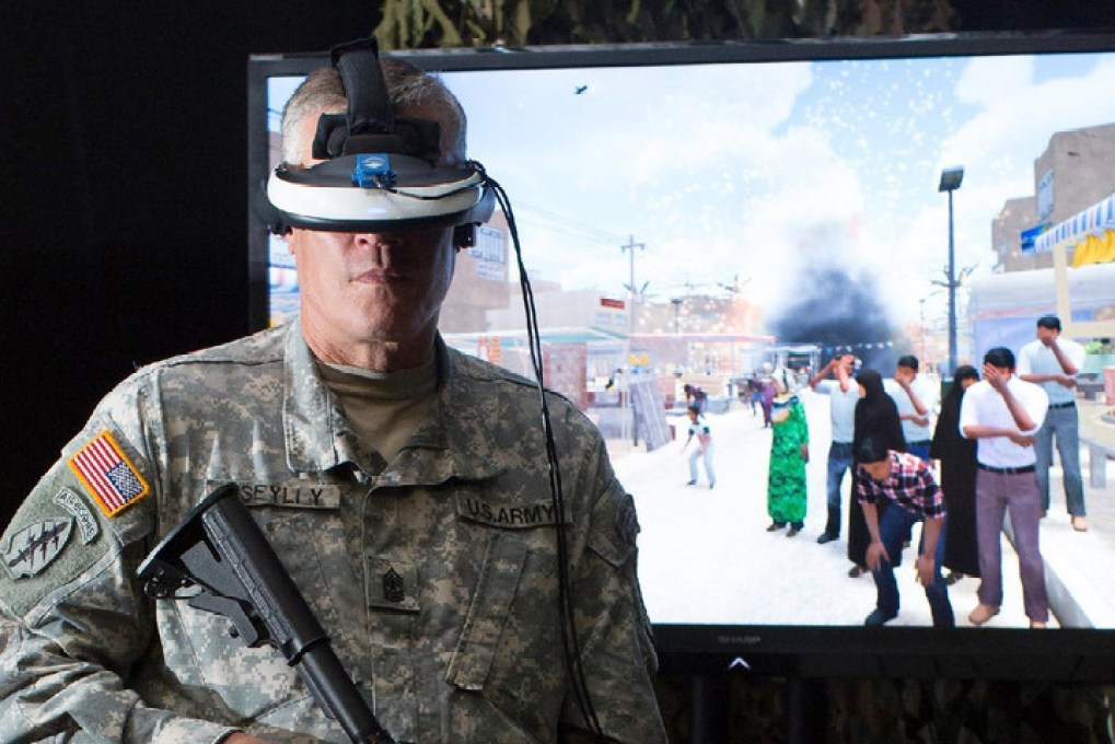 Virtual reality research helps veterans with PTSD