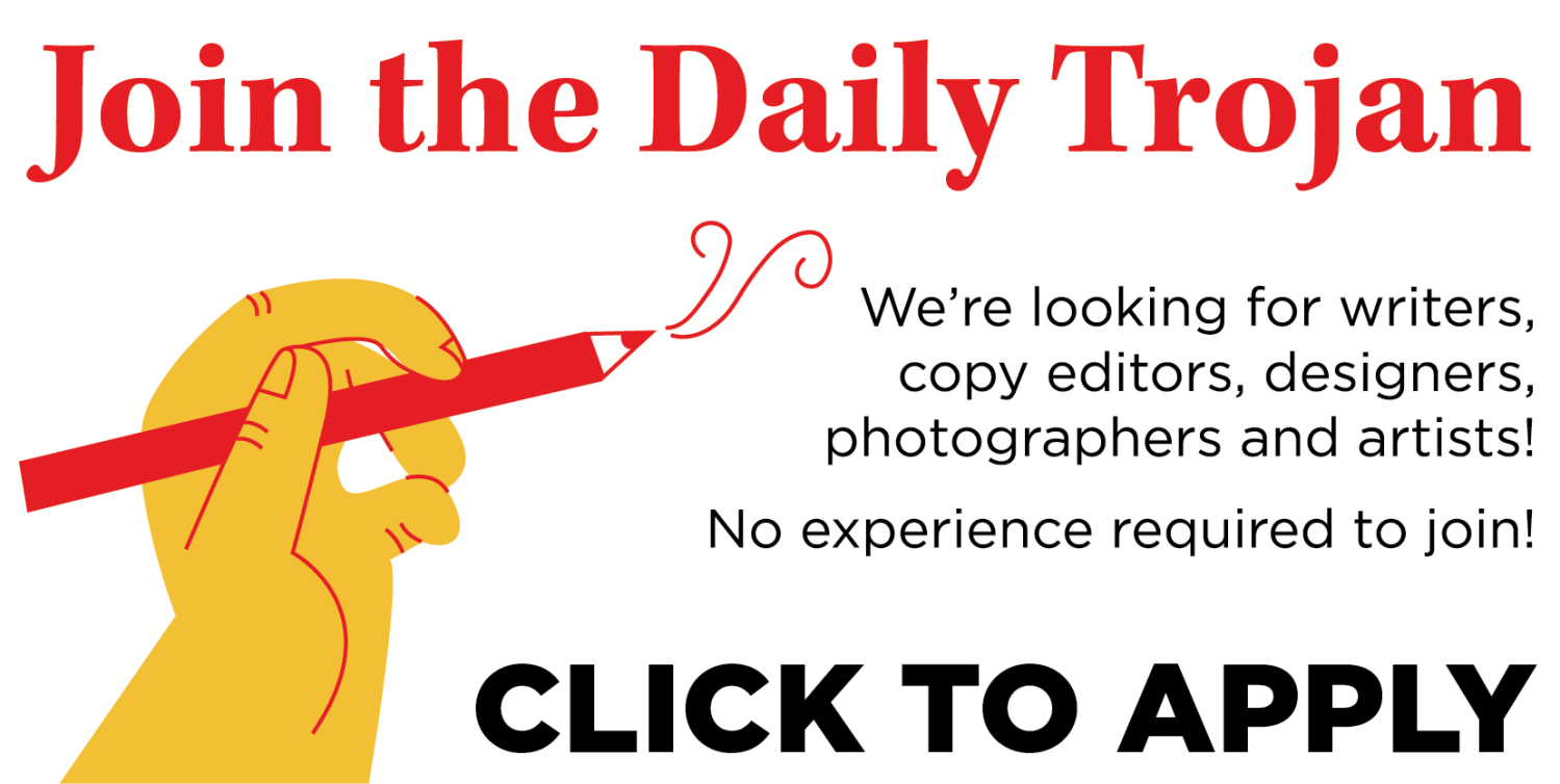 Apply to Work at the Daily Trojan