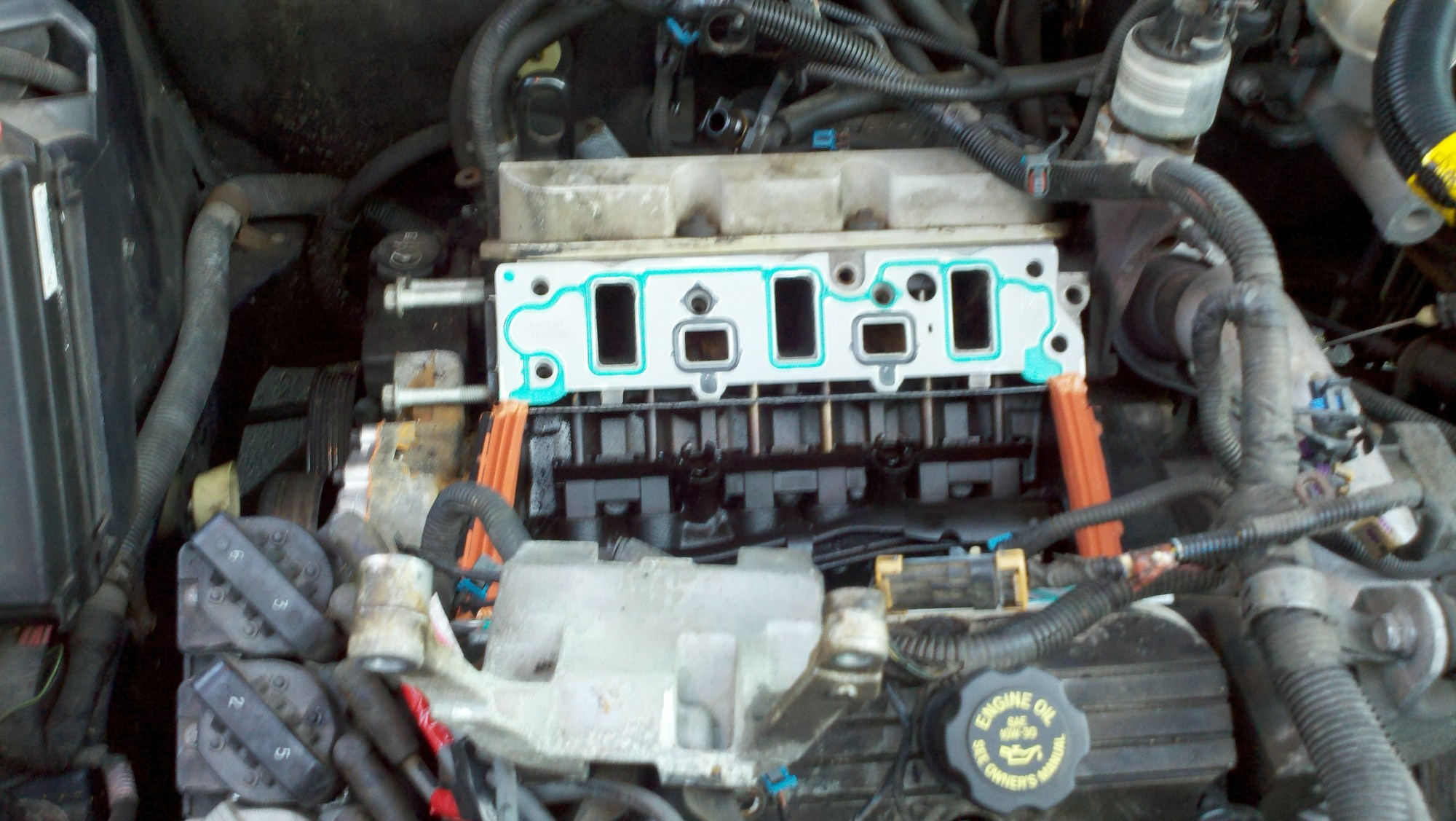 hight resolution of redesigned gasket is now how to fix 3 8l coolant leak daily tweak redesigned gasket is now 2002 pontiac grand prix intake manifold gasket diagram
