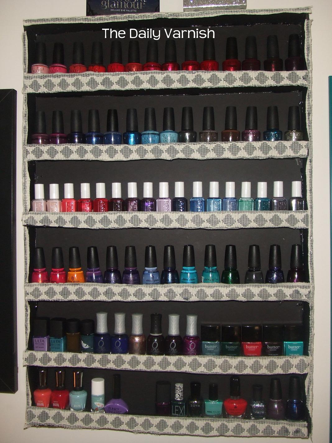 Nail Polish Storage And Organization 2012 The Daily Varnish