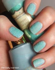 diy velvet manicure daily