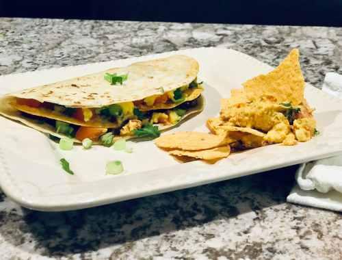 Vegan Quesadillas 4