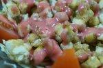Refreshing Crispy Tofu Salad with Strawberry Vinaigrette 3