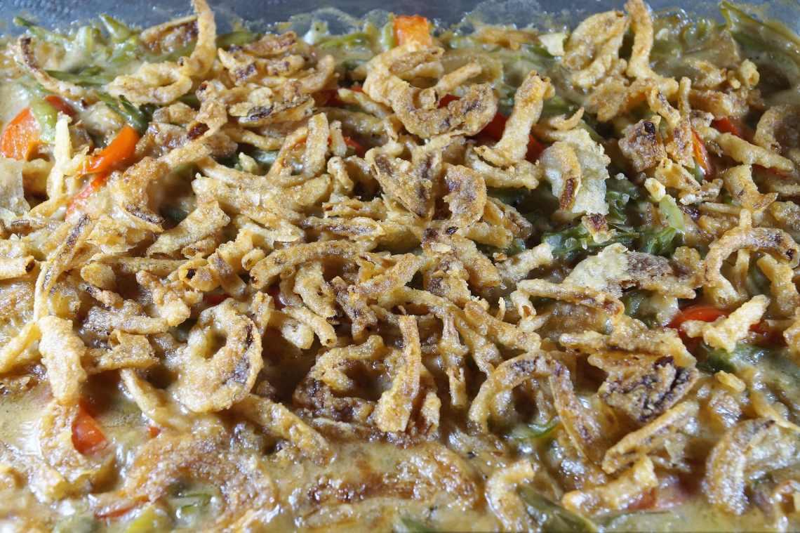 Easy Vegan Green Bean Casserole Recipe