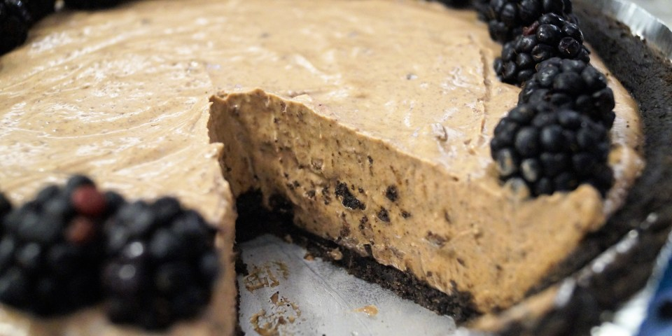 Vegan Chocolate Peanut Butter Pie
