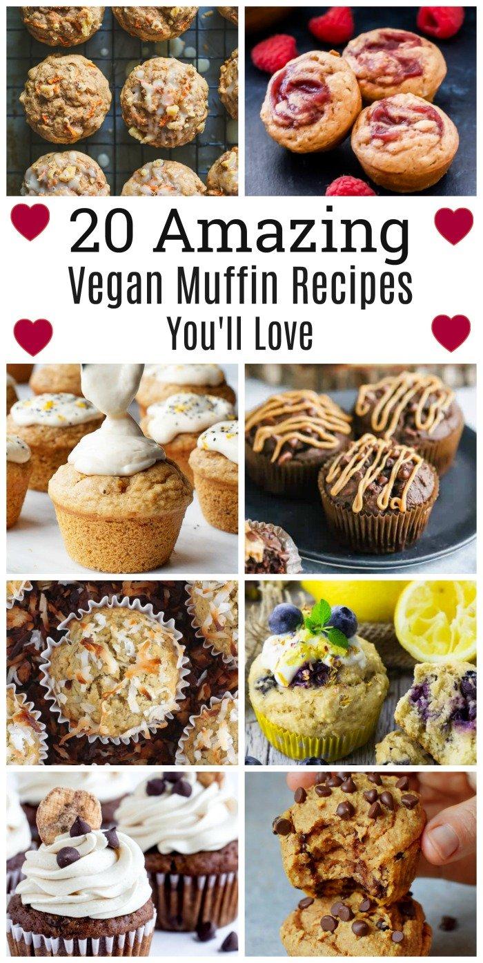 20 Amazing Vegan Muffin Recipes You'll Love 2