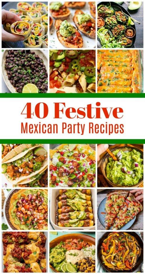 40 Festive Vegan Mexican Party Recipes 2