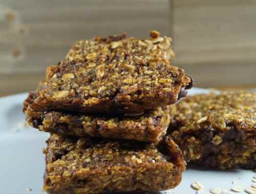 Oatmeal Date Banana Bars