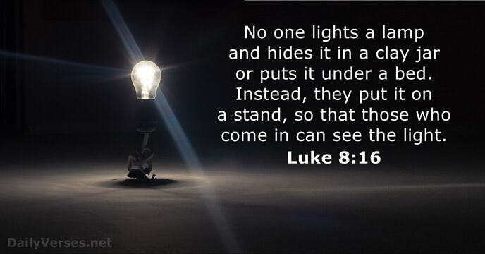 Image result for Luke 8:16