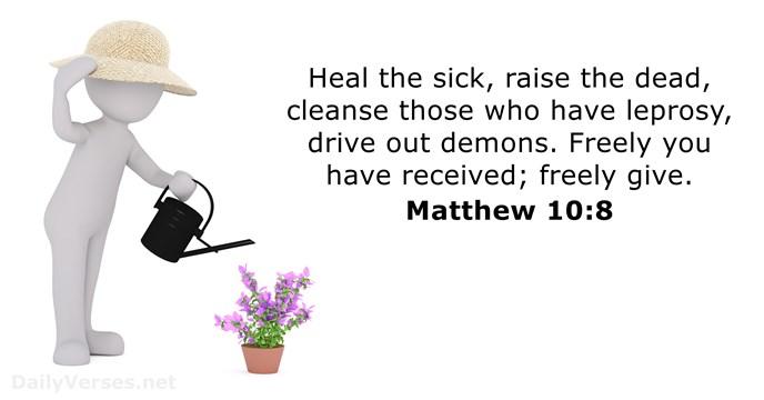 Matthew 108 Bible Verse Of The Day