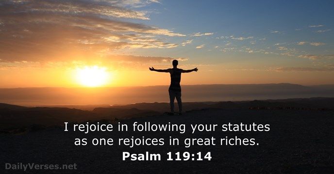 Psalm 11914  Bible verse of the day  DailyVersesnet