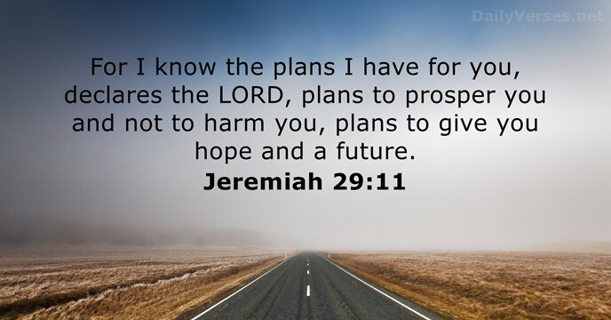 jeremiah 29 11 bible