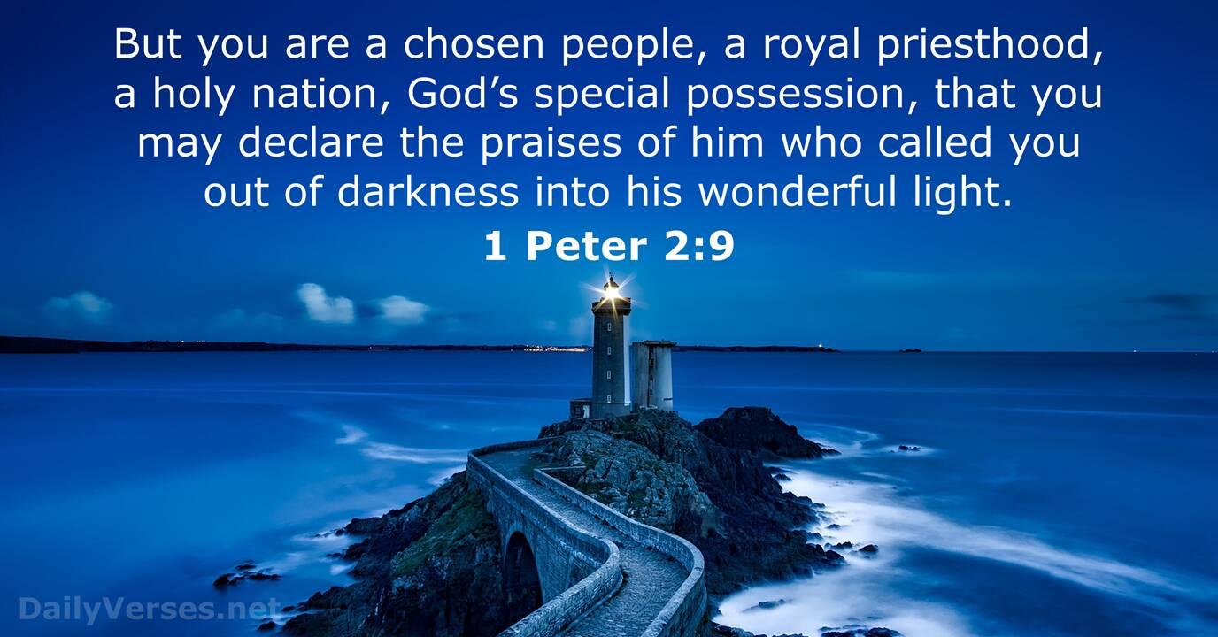 Bible Verses About Light