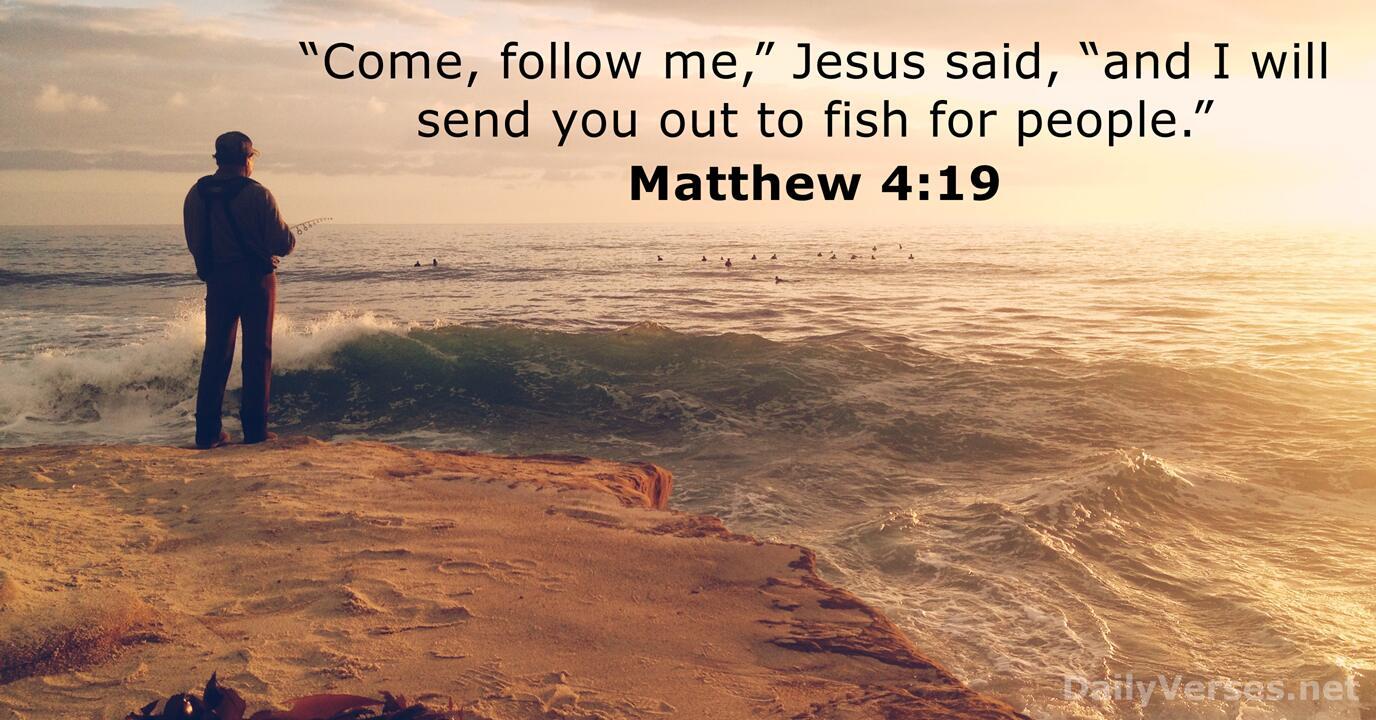 Matthew 419  Bible verse of the day  DailyVersesnet