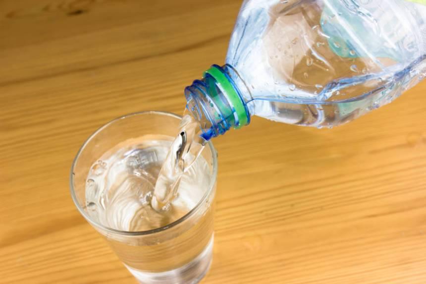 GLASS OF WATER, ALKALINE WATER