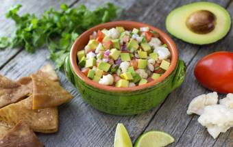 Heart-Healthy Vegan Avocado Ceviche