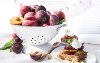 Healthy, Delicious Cooking With Summer's Peaches And Plums