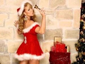 Mariah Carey Red Santa Holidays