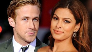 Ryan Gosling and Eva Mendez
