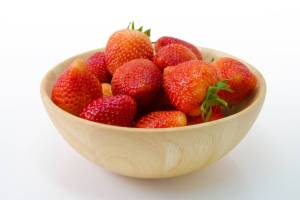 strawberries, strawberries in a bowl