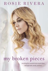 Rosie Rivera, Broken Pieces book cover