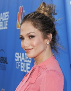 "NORTH HOLLYWOOD, CA - JUNE 09: Actress Jennifer Lopez arrives at the Television Academy Event For NBC's ""Shades Of Blue"" at Saban Media Center on June 9, 2016 in North Hollywood, California. (Photo by Jon Kopaloff/FilmMagic)"
