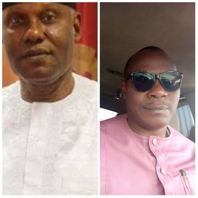 Senator Clifford Adia and Amb. Tony Okonigene