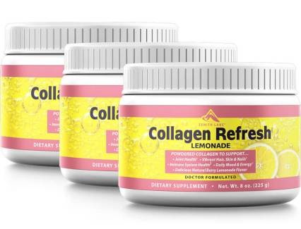 collagen fresh lemonade
