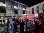 عراق میں کورونا اسپتال میں آتشزدگی سے 45 مریض ہلاک