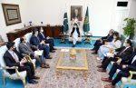 وزیر اعظم عمران خان سے کوکا کولا آئسیک کے وفد کی ملاقات۔