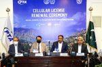 آزاد جموں و کشمیر اور گلگت بلتستان کے لیے تین آپریٹروں کے سیلولر (این جی ایم ایس) لائسنسوں کی تجدید