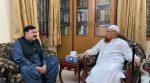 وفاقی وزیر داخلہ کی دارالعلوم کراچی آمد،مفتی تقی عثمانی سے ملاقات