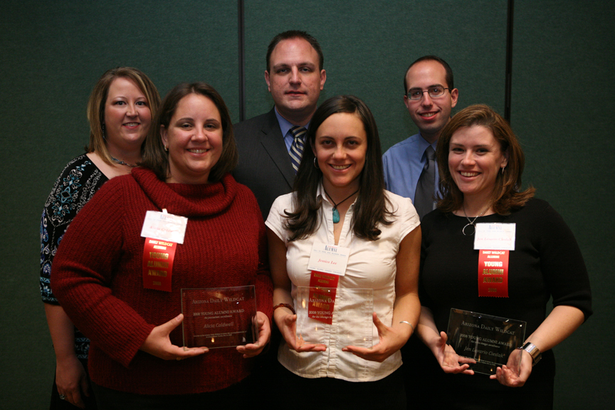 2008 Young Alumni Award winners