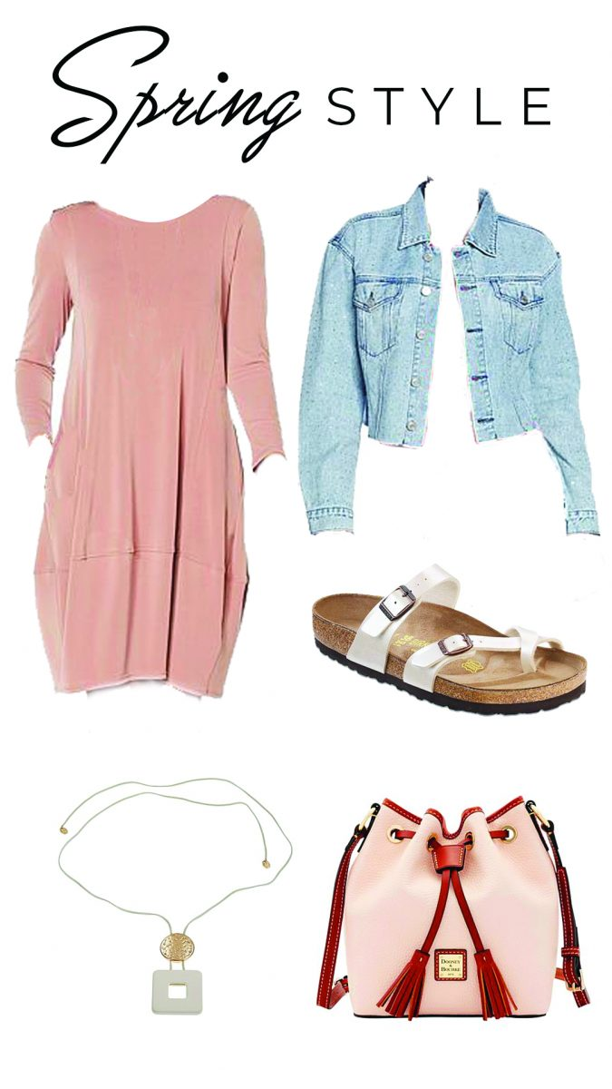 4 spring outfits with