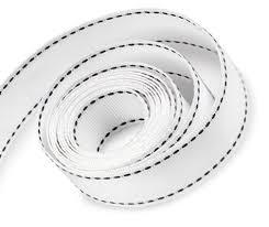 white-and-black-grosgrain-ribbon