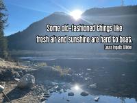 Quote - fresh air mountains 1