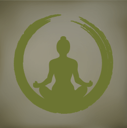 yogi gold gray background
