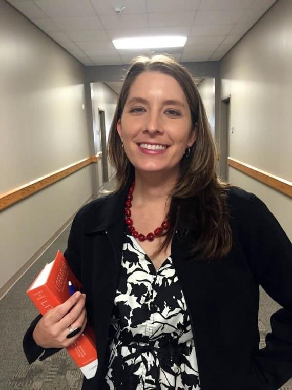 Audrey Wicks teaches English at the Schulenburg, Texas, campus of Blinn College.