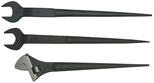 Spud wrenches