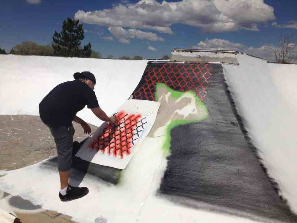 Youth were given permission to create their own designs for the skateboard park in Cortez, Colorado. Engaging youth was a priority of the Cortez Heart & Soul project. Graffitti in the city dropped dramatically after a wall in the skateboard park was designated for street art.