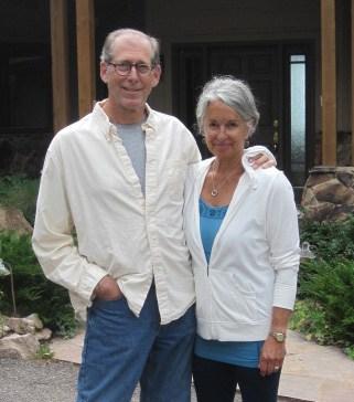 Authors Nancy and Ed Zorensky.